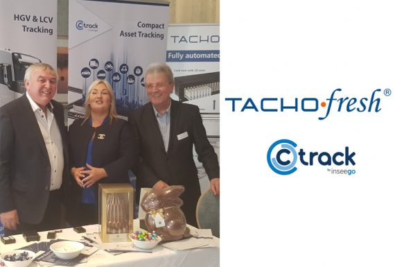 TACHOfresh and Ctrack together at the Irish Road Haulage Conference